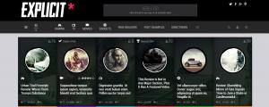 Explicit WordPress Teması