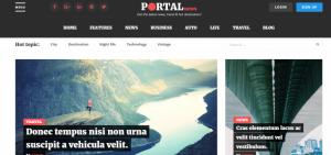 Wordpress Portal News Teması