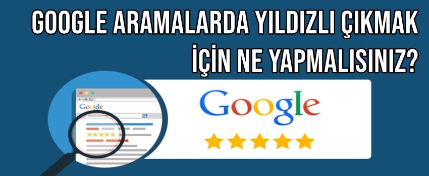 Google Aramalarda Yıldızlı Çıkmak