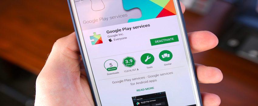Google Play Hizmetleri Güncelleme