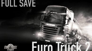 Euro Truck Simulator 2 Full Save Dosyası