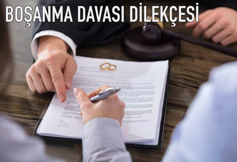 boşanma davası dilekçesi
