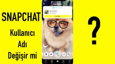 Snapchat kullanıcı adı değişir mi