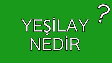 yesilay-nedir