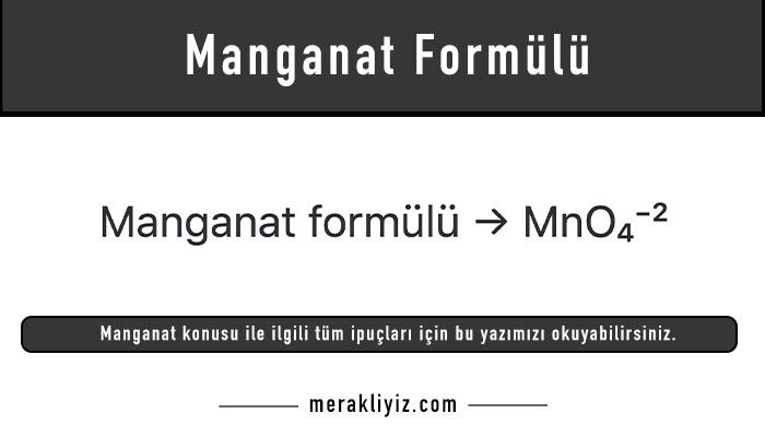 manganat formülü