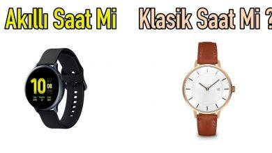 akıllı saat mi klasik saat mi